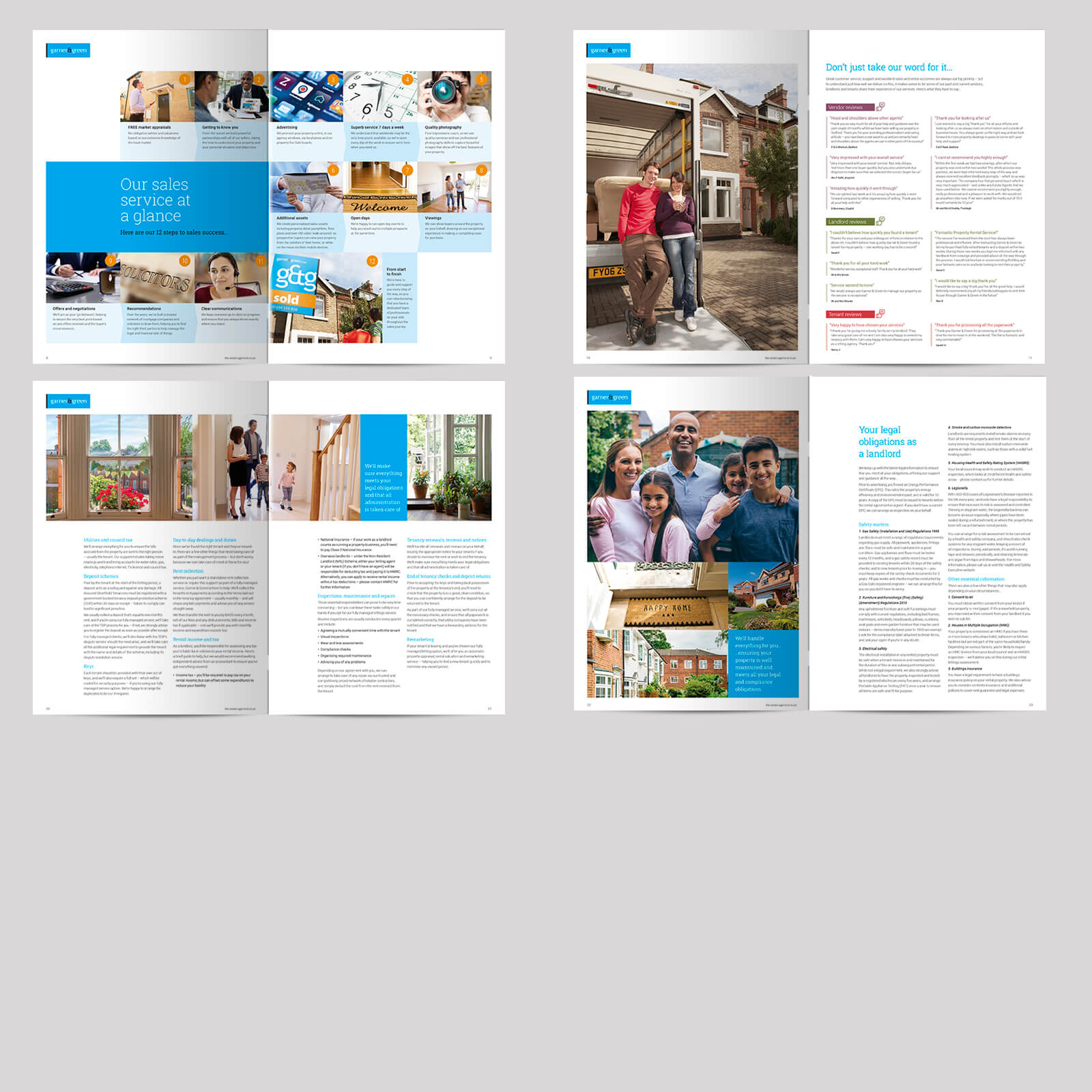 Estate agents 28 page combined sales and lettings brochure 03