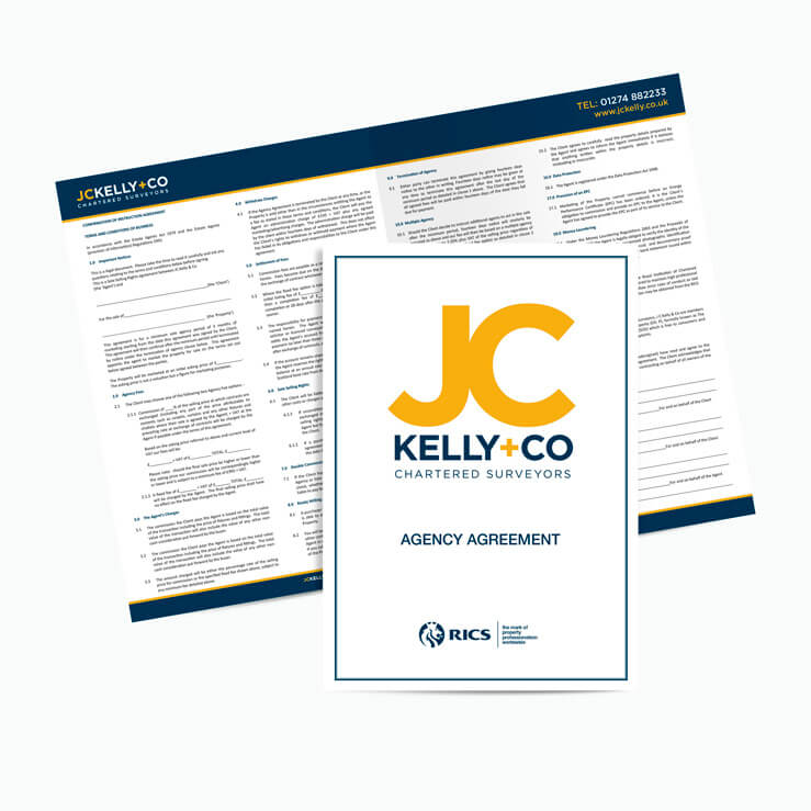 Estate agency agreement template NCR JCKelly