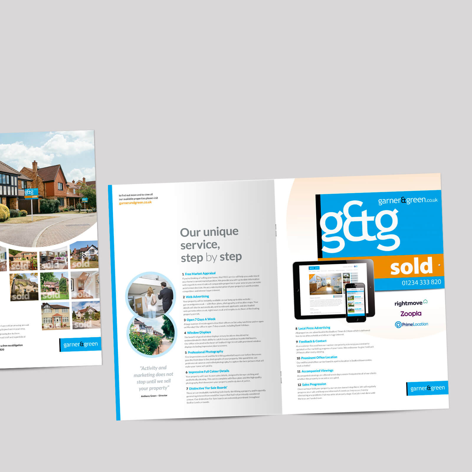 estate agents selling guides
