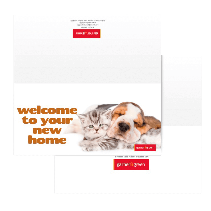 Welcome To Your New Home Greetings Cards