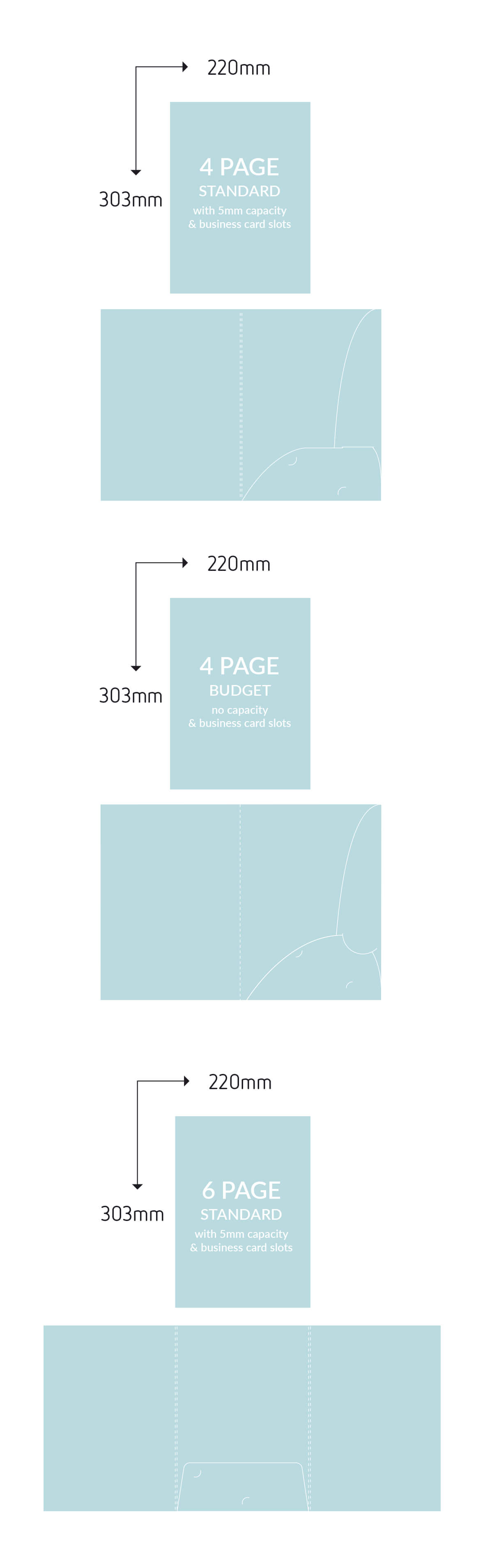 a guide to paper sizes and weights