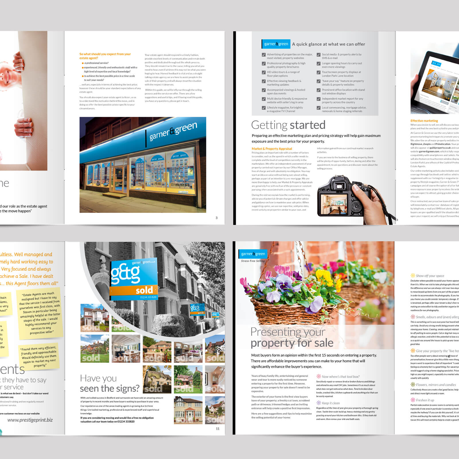 Estate agents 16 page residential sales brochure 02