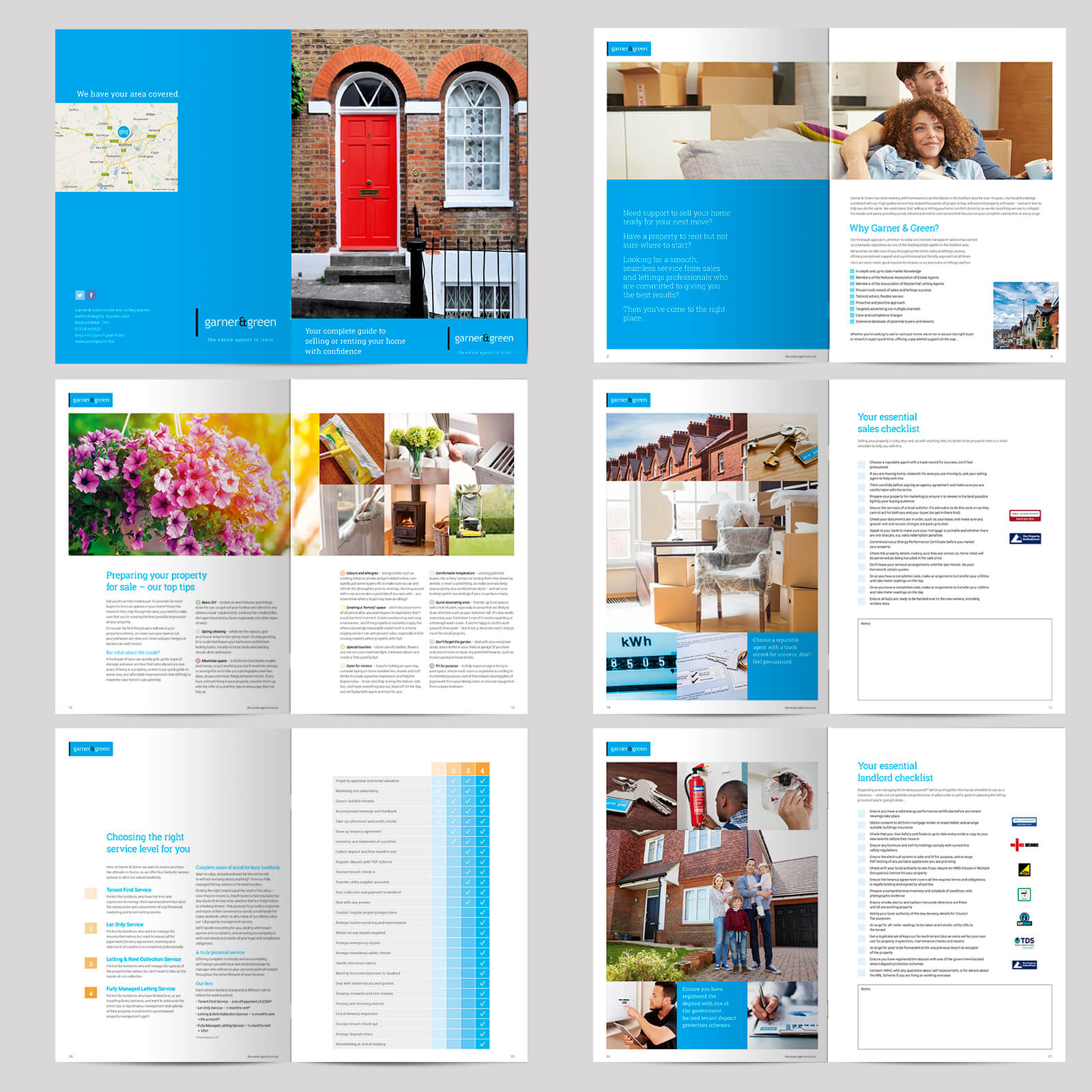 Estate agents 28 page combined sales and lettings brochure 01