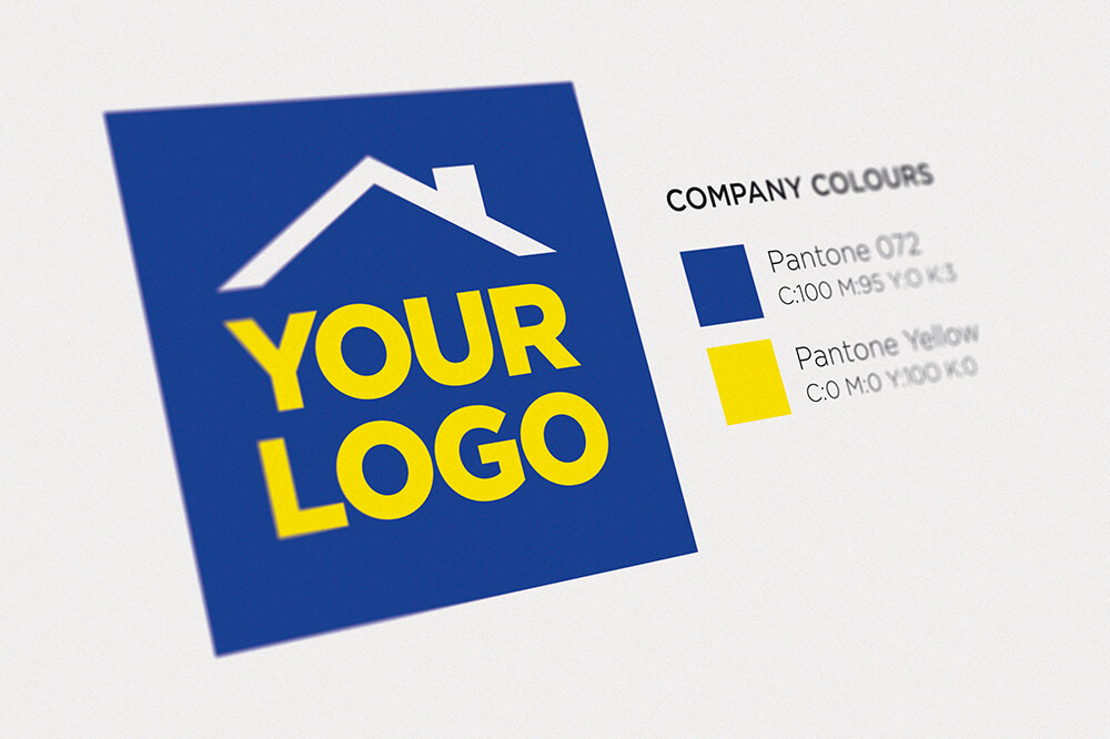 High resolution logo artwork is required