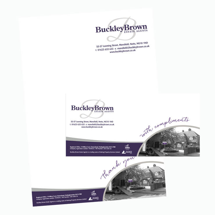 Estate Agent letterhead BuckleyB