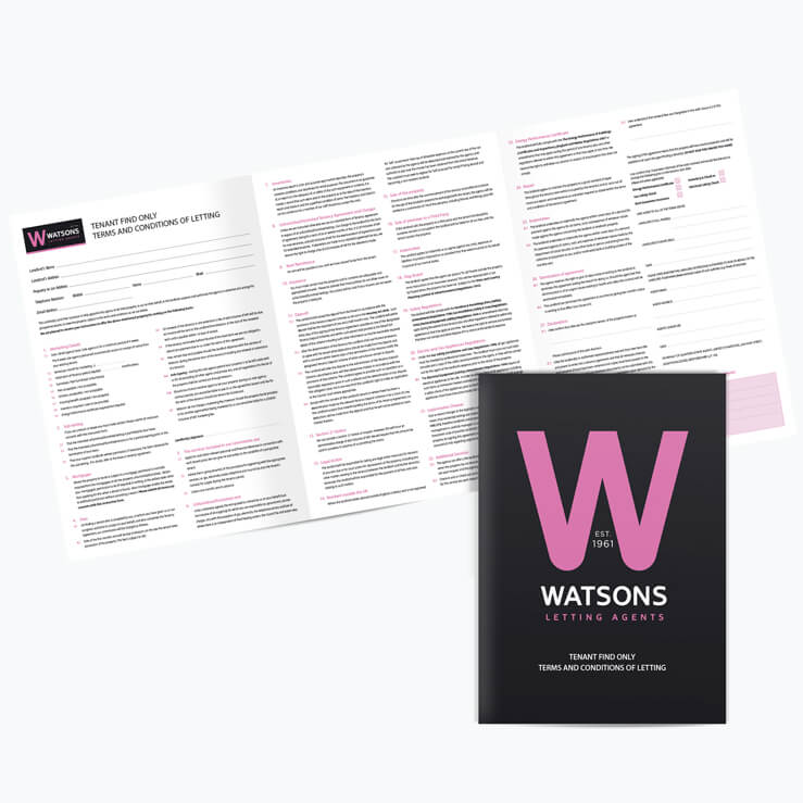 Lettings Agency Agreement NCR FE 6pWatsons